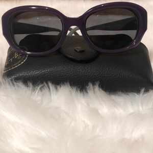 Authentic Ray Ban Sunglasses Gray Purple for RX